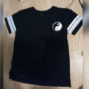Black and White Junior shirt